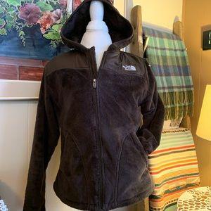 The North Face Furry fleece jacket.